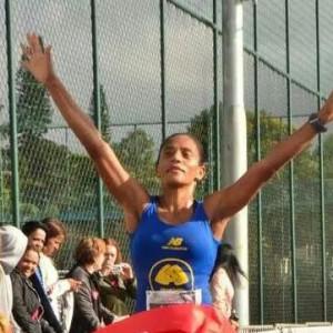 Maria Silvânia, atleta da equipe Miguel Sarkis